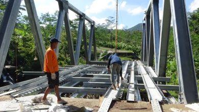 Photo of Pembangunan Jembatan Plipiran Banjarnegara Sudah 43 Persen