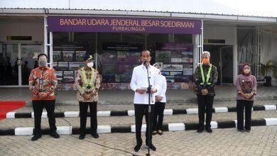 Photo of Presiden Harap Kehadiran Bandara Jenderal Besar Soedirman Tumbuhkan Ekonomi Daerah Sekitar