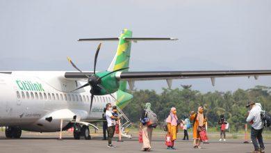 """Photo of Sambut Pendaratan Perdana  Pesawat di Bandara JB Soedirman, Ganjar : """"The Dream Come True"""""""