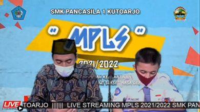 Photo of SMK Pancasila 1 Kutoarjo Selenggarakan MPLS Secara Daring