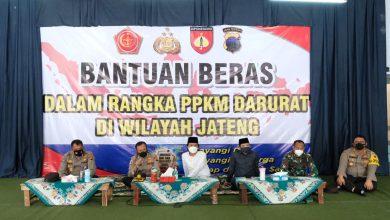 Photo of Kurangi Dampak PPKM Darurat , Polda Jateng Gelontorkan Bansos 385.000 Ton Beras