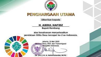Photo of Rembang Tercepat No 2 Se- Indonesia Setelah Wonogiri, Penyelesaian SDGs