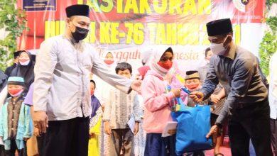 Photo of Peringati HUT RI, Ketua PAC PP Kutoarjo Santuni Anak Yatim