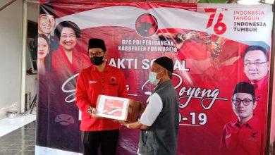 Photo of Peringati HUT RI Ke-76 DPC PDIP Purworejo Gelar Baksos