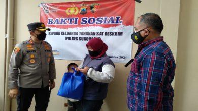 Photo of Tak Tutup Mata, Polres Sukoharjo Salurkan Bantuan ke Keluarga Tahanan